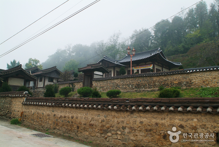 Imcheonggak House (안동 임청각)
