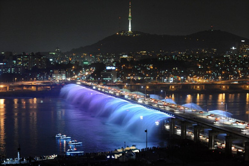 Banpo Bridge Rainbow...