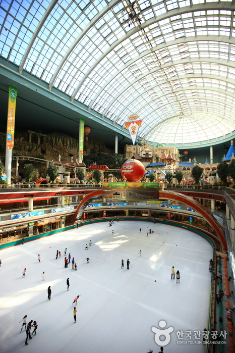 Lotte World Indoor Ice Skating Rink (롯데월드 아이스링크)