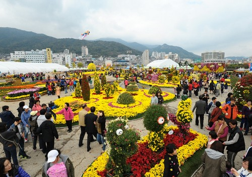 Changwon Gagopa Chrysanthemum Festival (창원 가고파국화축제)
