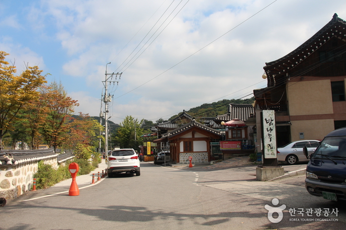 Traditional Food Town around Namhansanseong Fortress (남한산성 전통음식마을)