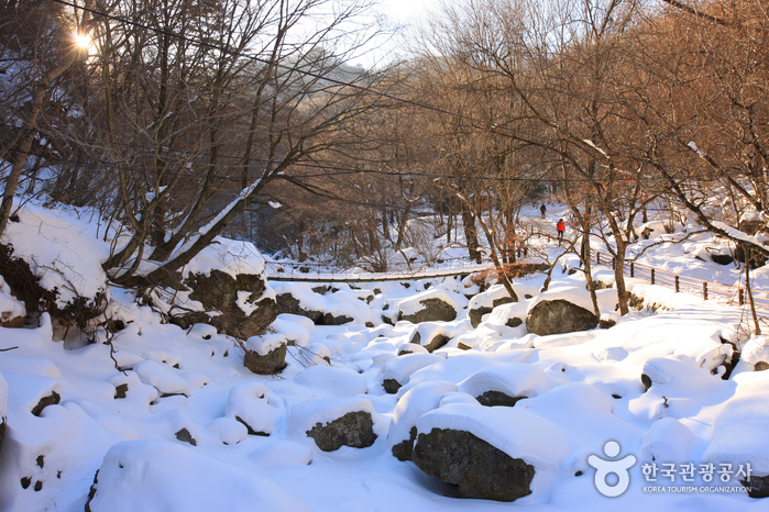 Muju Gucheondong Valley (구천동 계곡)