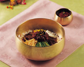 Bibimbap (Rice Mixed with Vegetables and Beef)