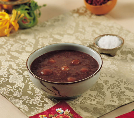 Patjuk (Red Bean Porridge)