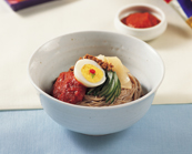 Bibim-naengmyeon (Mixed Cold Buckwheat Noodles)